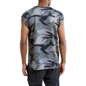 Craft Charge Camiseta Malla Manga Corta Hombre, concrete/multi